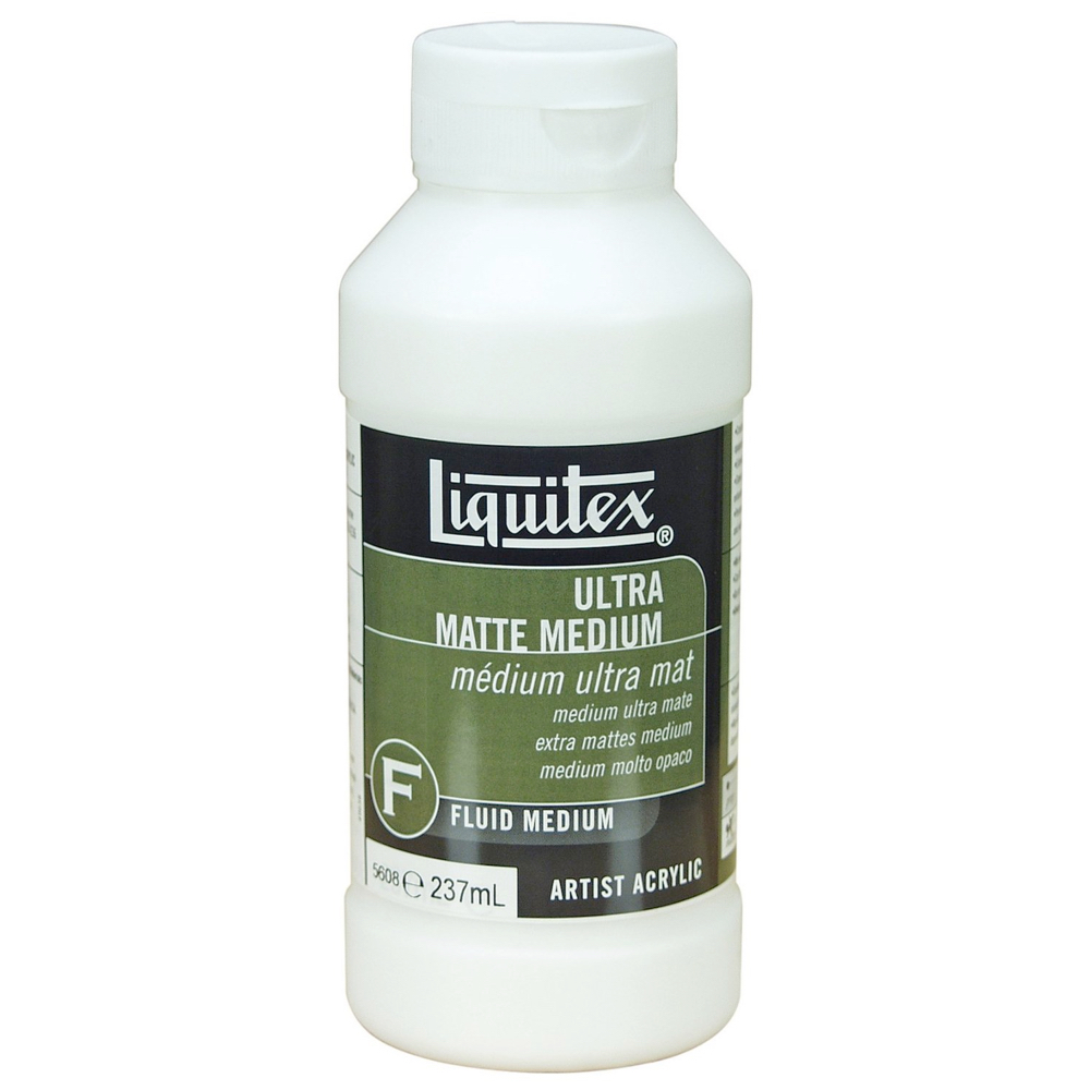 Liquitex Opaque/Ultra Matte Medium 8 Oz