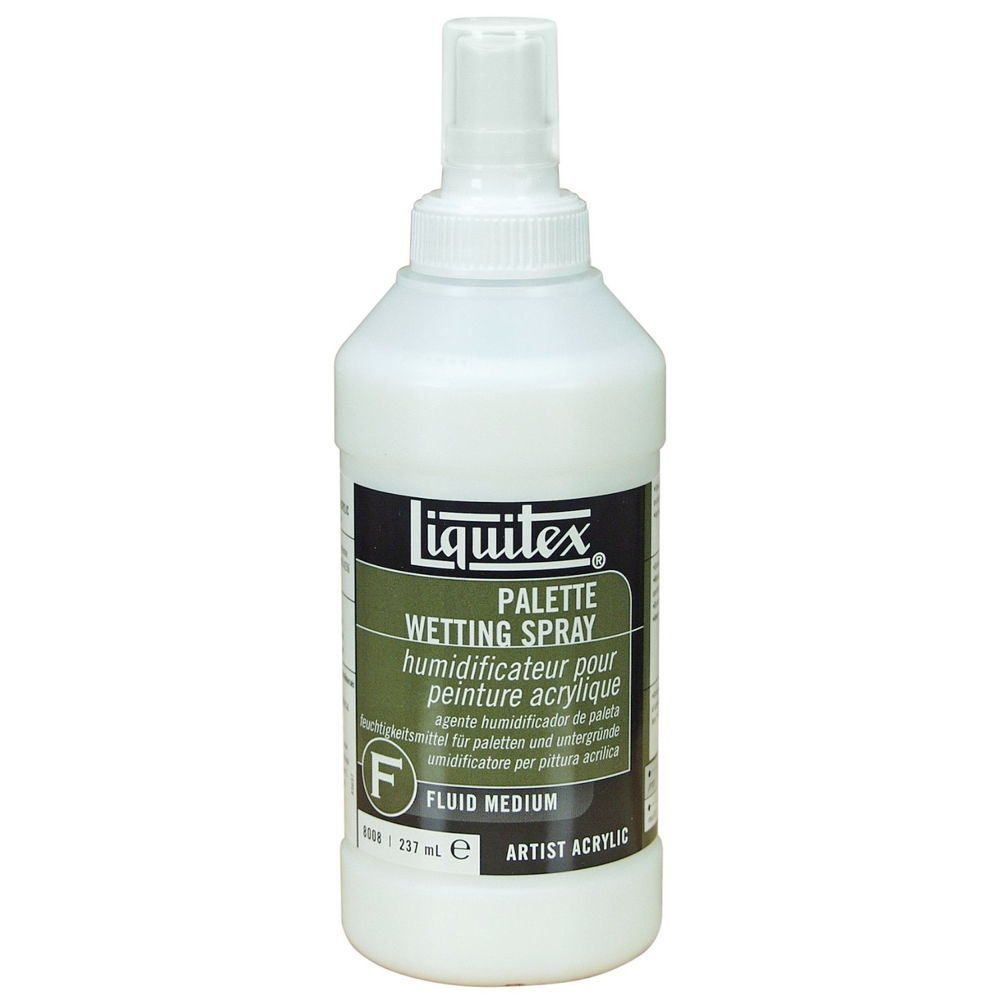 Liquitex Palette Wetting Spray 8 Oz