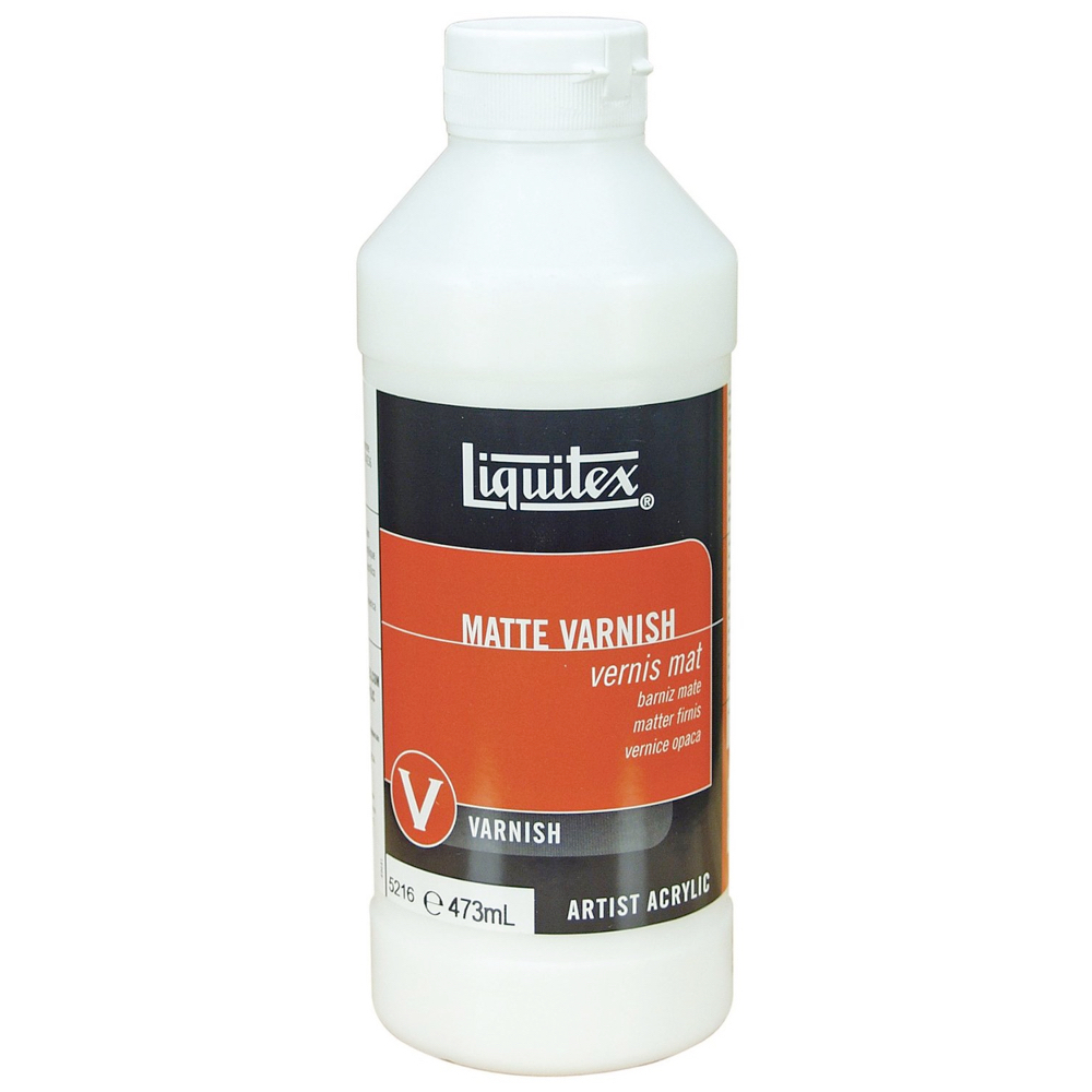 Liquitex Matte Varnish 16 Oz