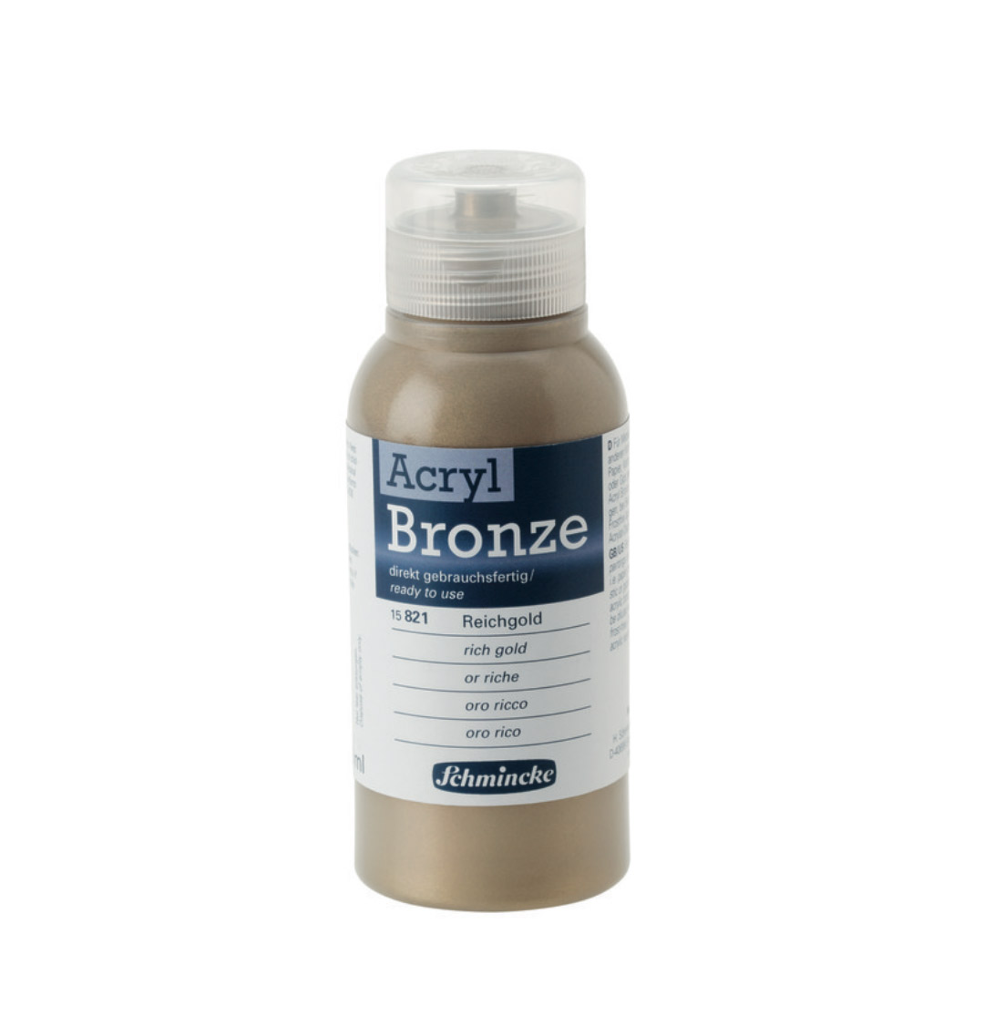 Schmincke Acrylic Bronze Rich Gold 150Ml