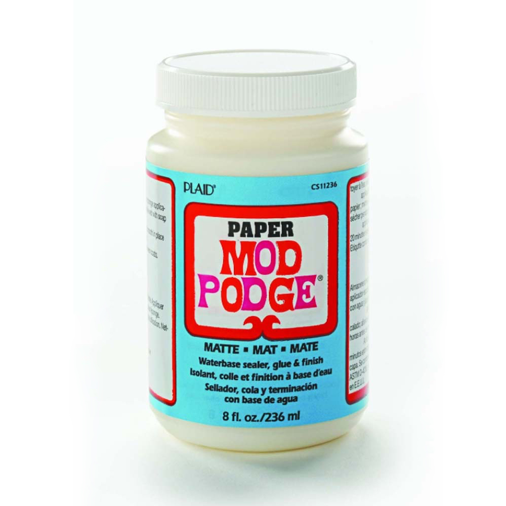 Mod Podge For Paper Matte 8 Oz