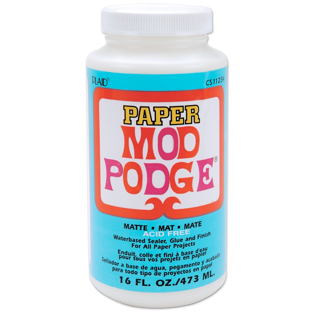 Mod Podge For Paper Matte 16 Oz