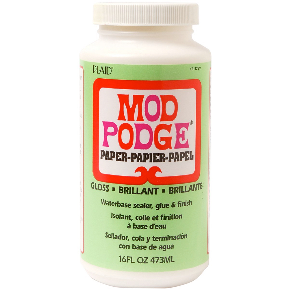 Mod Podge For Paper Gloss 16 Oz