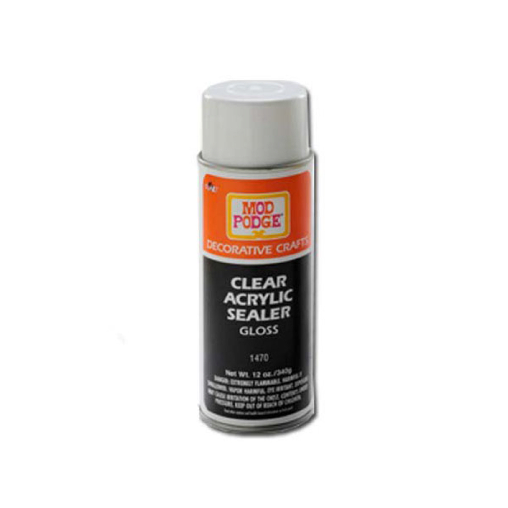 Mod Podge Clear Sealer Gloss 12 Oz