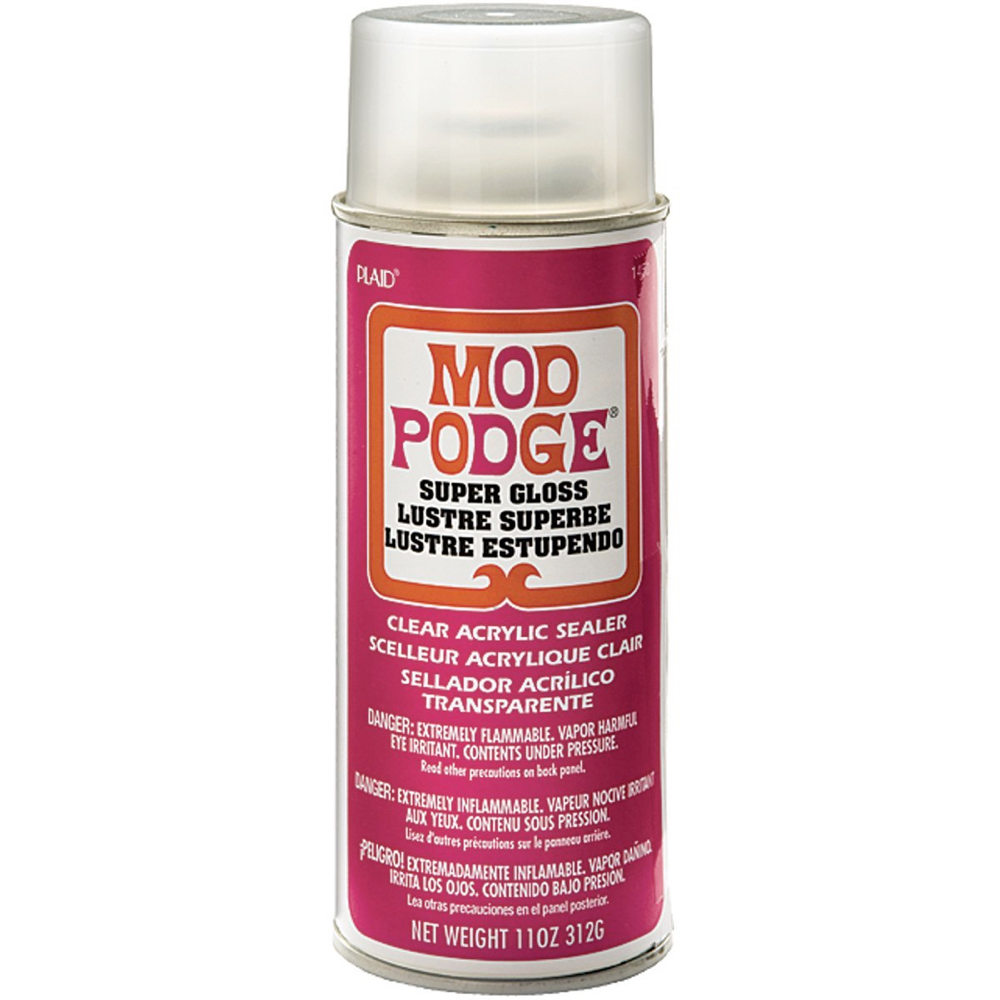 Mod Podge Clear Sealer Super Gloss 11 Oz