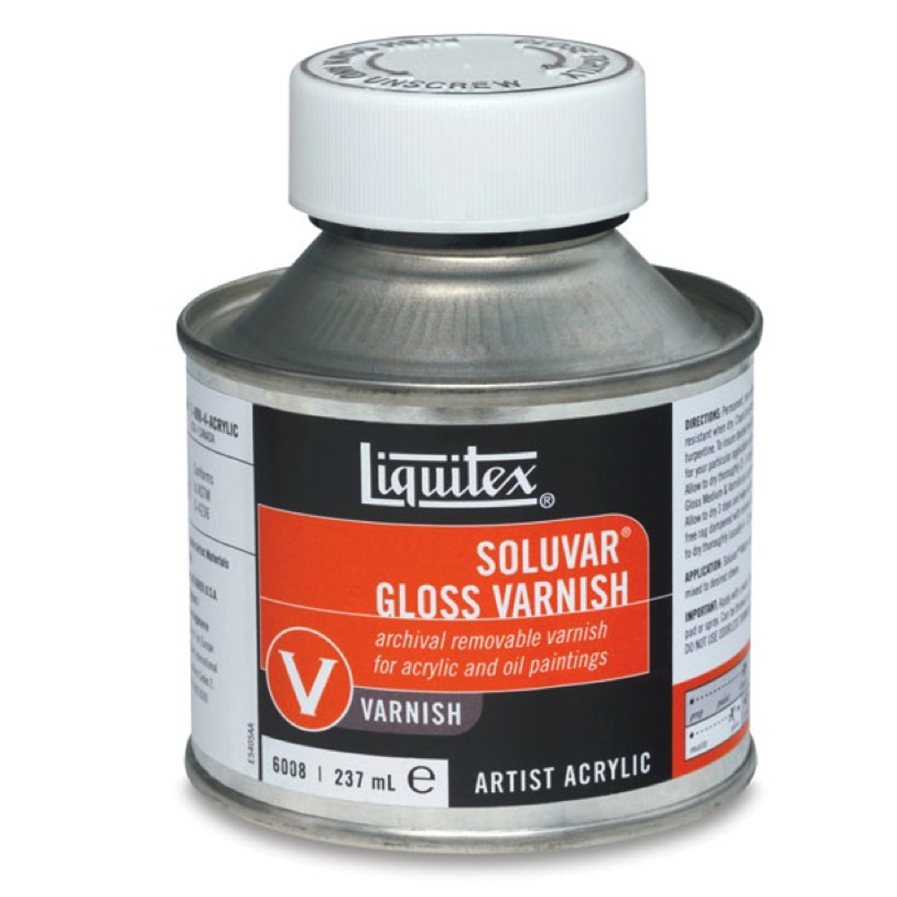 Liquitex Soluvar Gloss Final Varnish 8 Oz