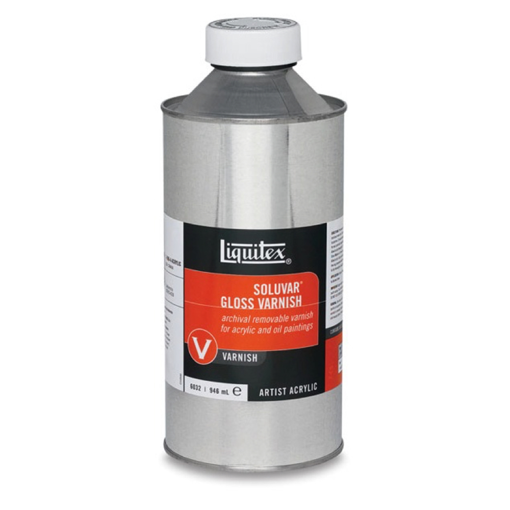 Liquitex Soluvar Gloss Final Varnish 32 Oz