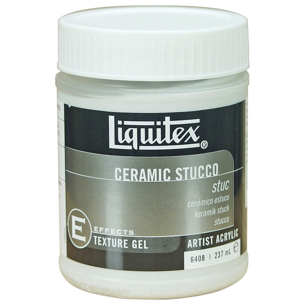 Liquitex Texturegel Ceramic Stucco 8 Oz