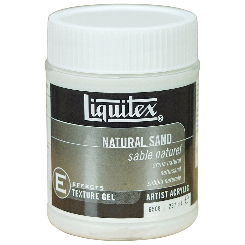 Liquitex Texturegel Natural Sand 8 Oz