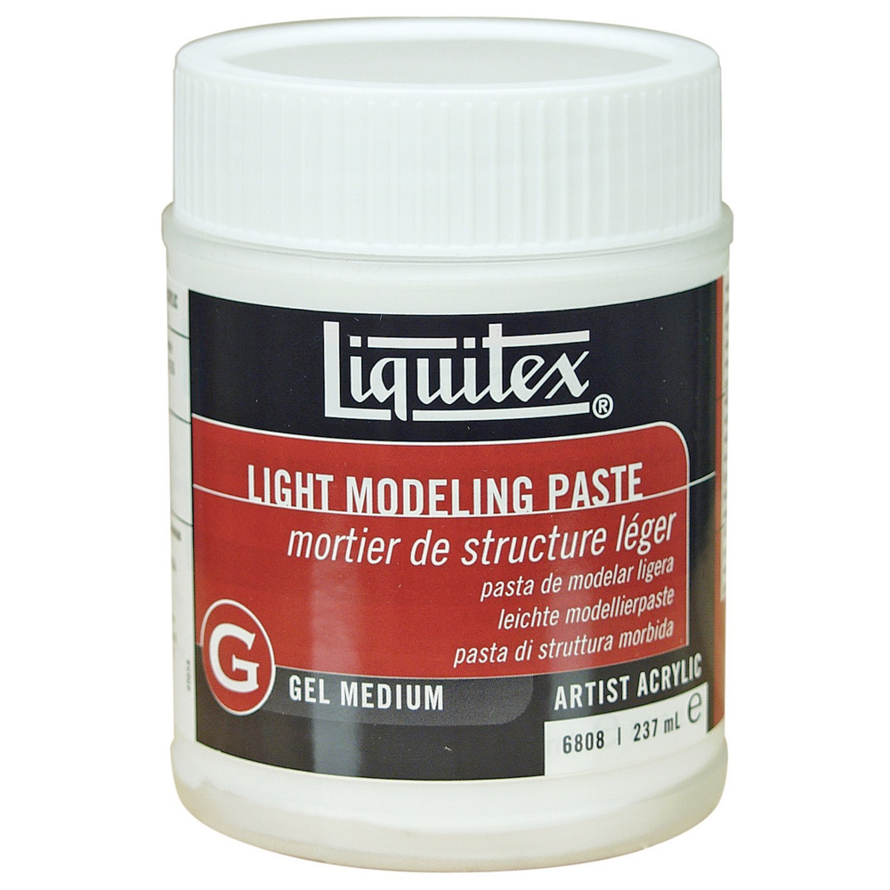Liquitex Texturegel Lt Model Paste 8 Oz