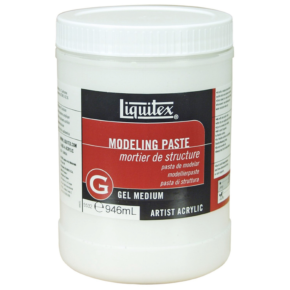 Liquitex Modeling Paste 32 Oz