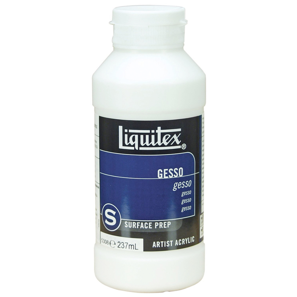 Liquitex Gesso 8 Oz White