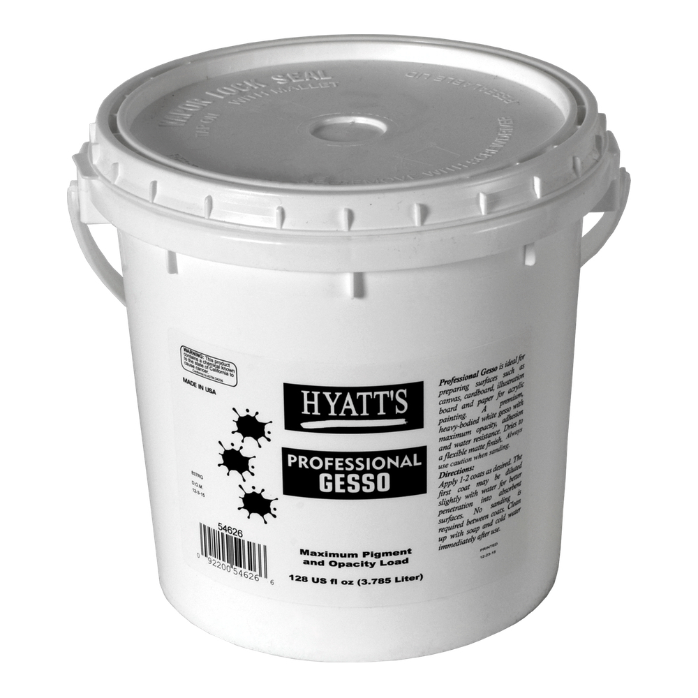 Hyatt's Professional Gesso Gallon