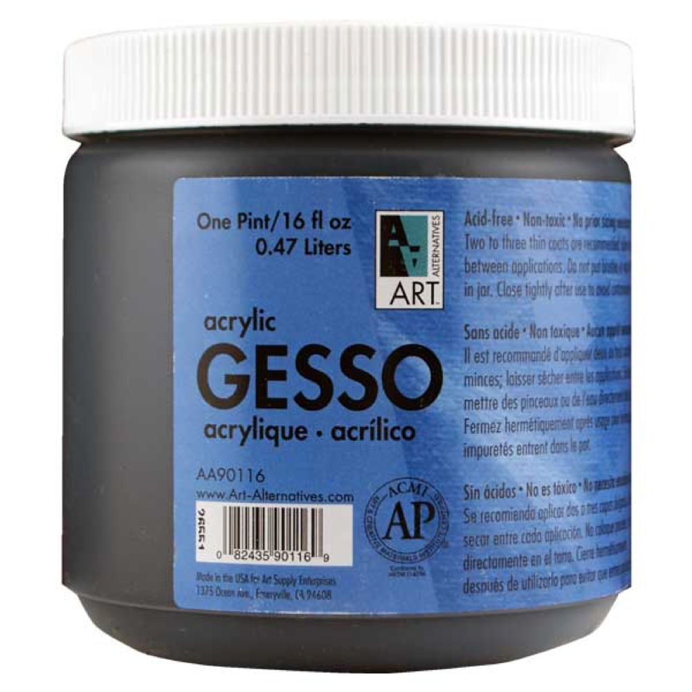 Art Alternatives Gesso Black 160Z