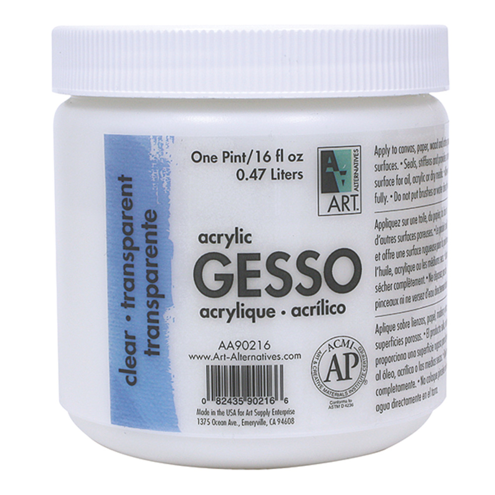 Art Alternatives Clear Gesso 16 Oz