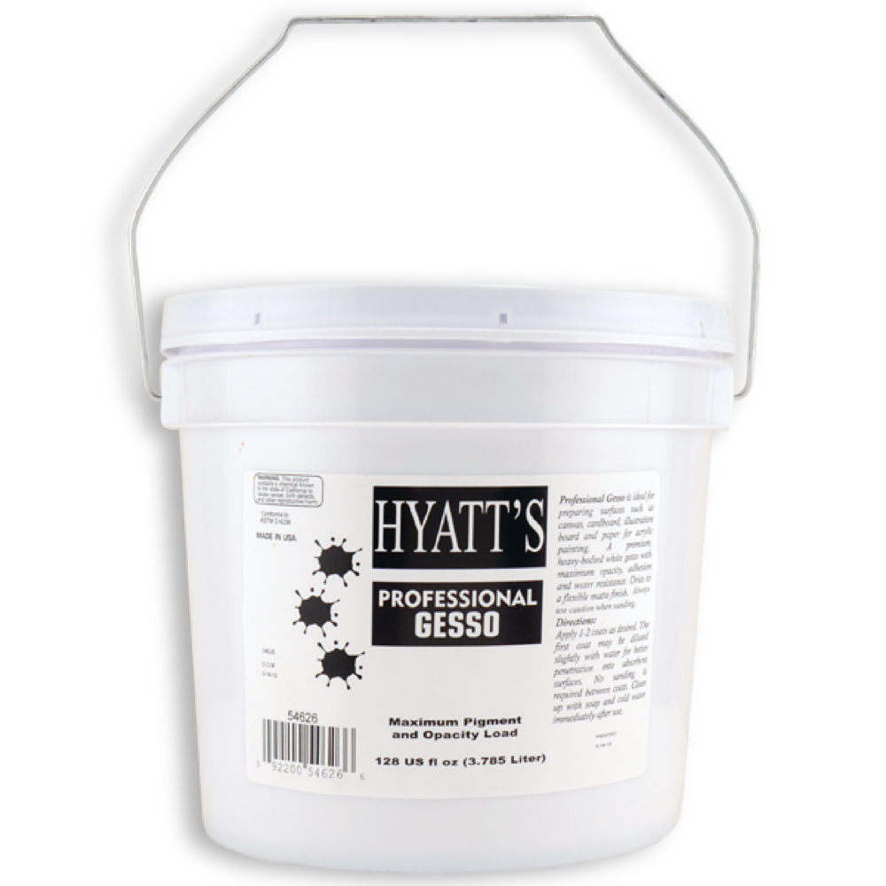Hyatt's Economy Gesso Gallon/ 128 Oz