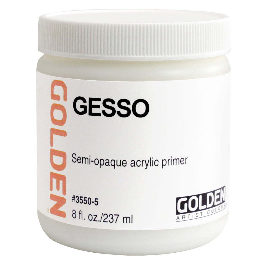 Golden Acrylic 8 Oz Gesso