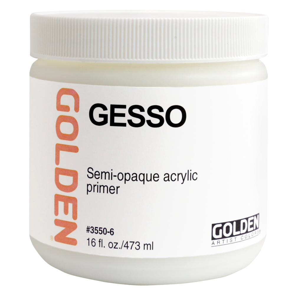 Golden Acrylic 16 Oz Gesso