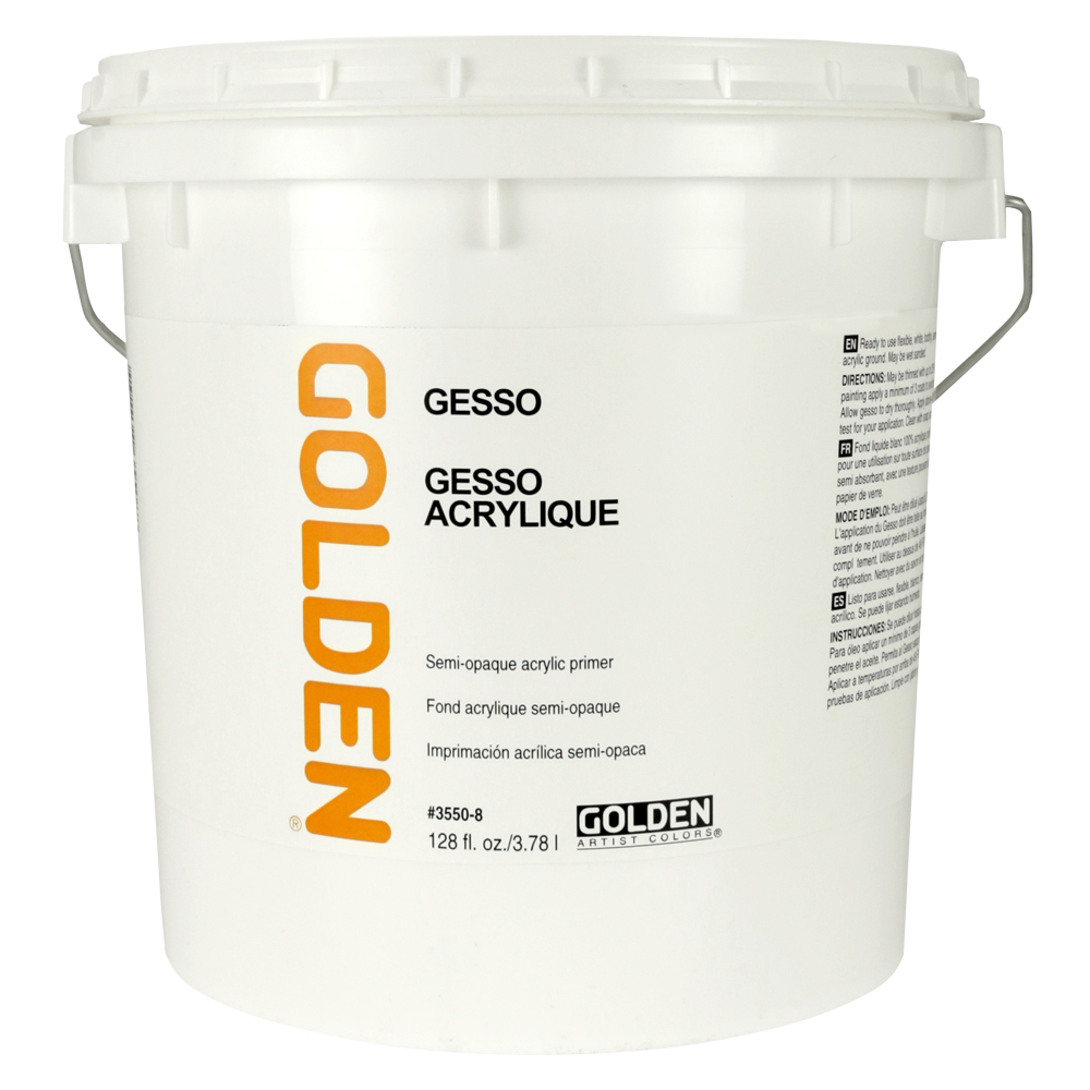 Golden Ground Gallon Gesso