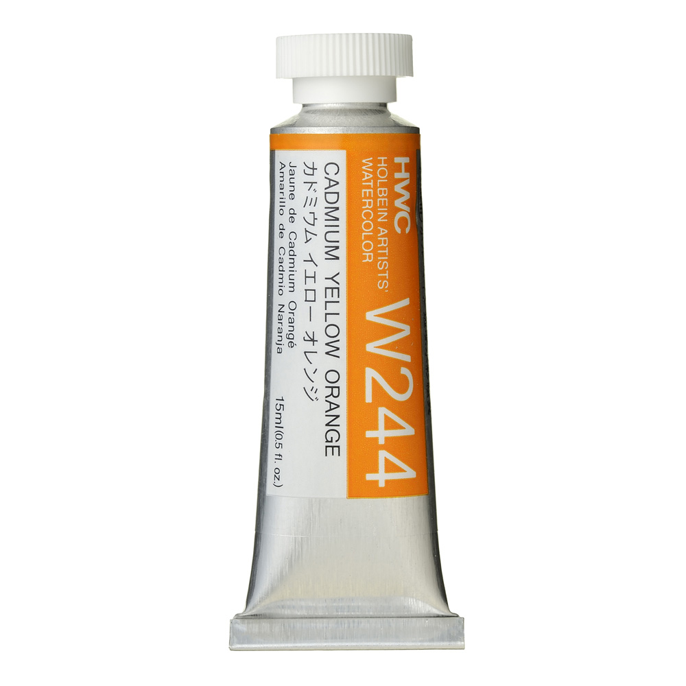 Holbein Wc 15Ml Cadmium Yellow Orange