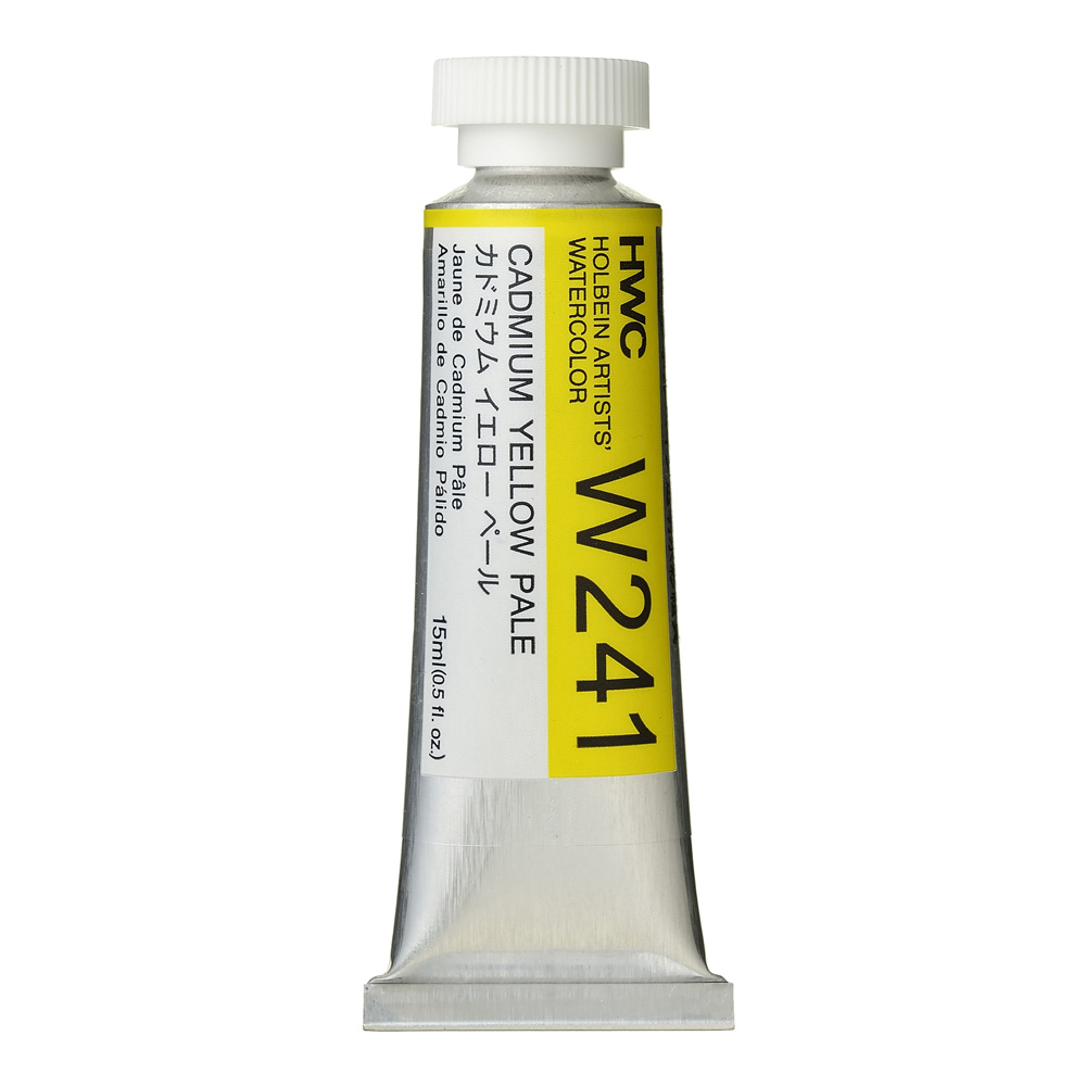 Holbein Wc 15Ml Cadmium Yellow Pale