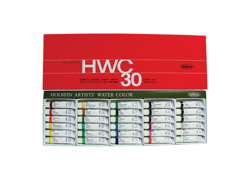Holbein Wc W407 Set Of 30 5Ml Tubes
