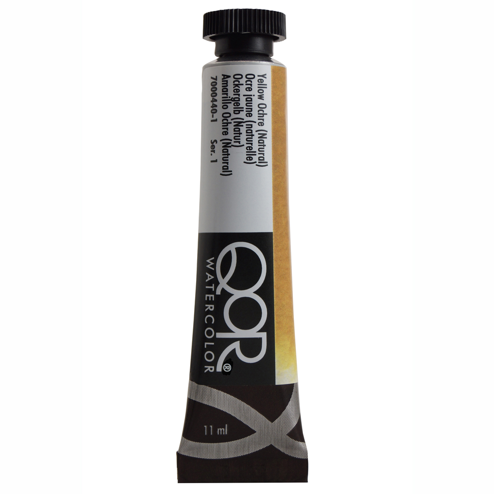 Qor W/C 11Ml Yellow Ochre Natural