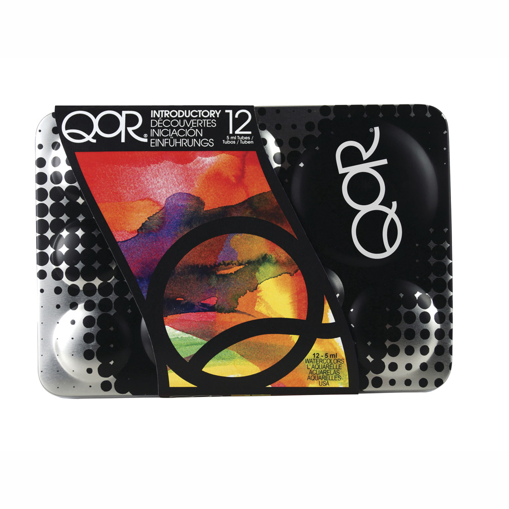 Qor W/C Introductory 12 Color Set