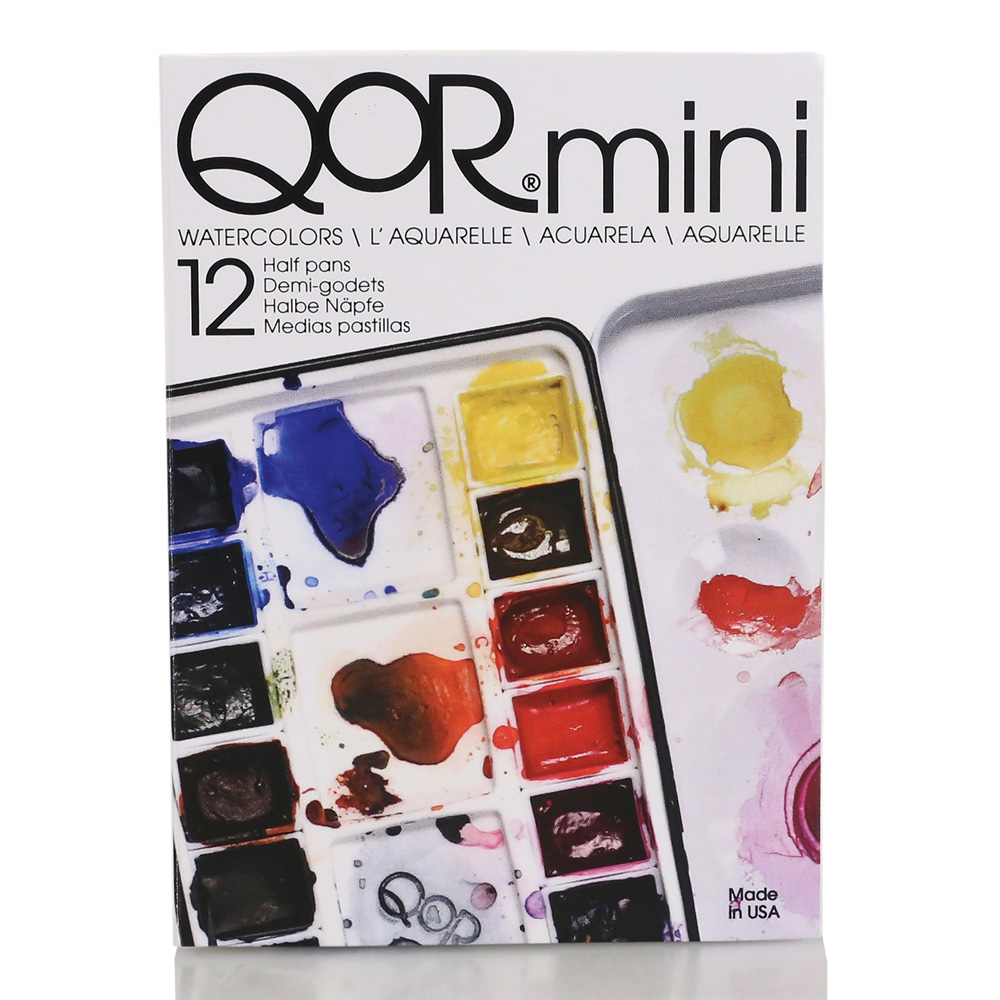 Qor W/C Mini 12 Half pan Set