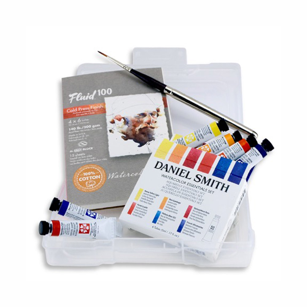 buy daniel smith watercolor essentials set