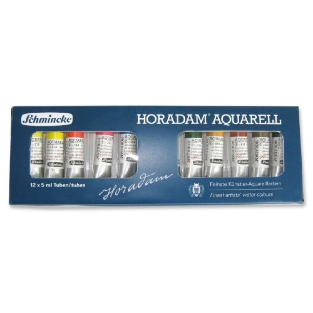 Schmincke Horadam Aquarell 12 X 5Ml Set