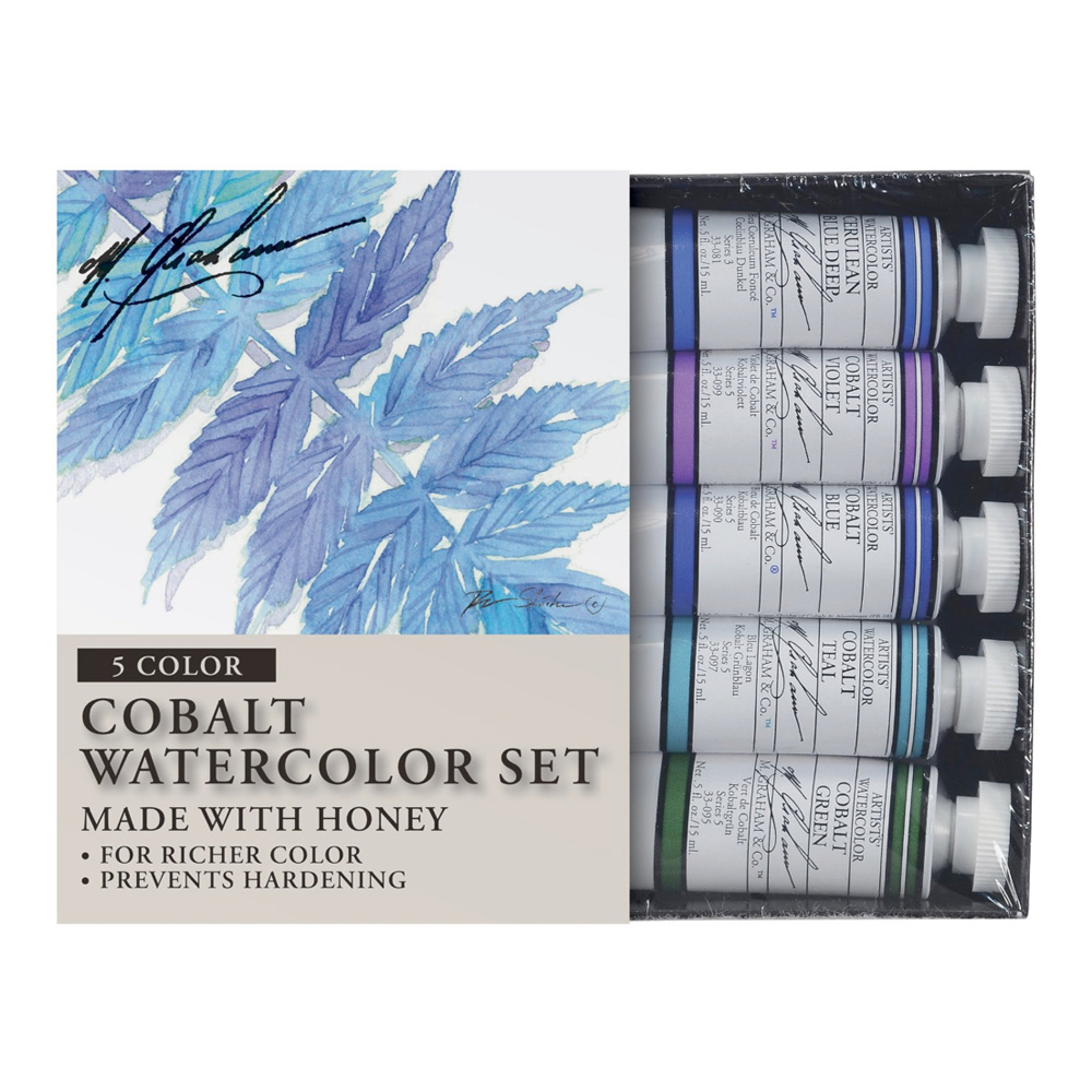 M. Graham Tube Wc Cobalt Mix Set 1/2 Oz
