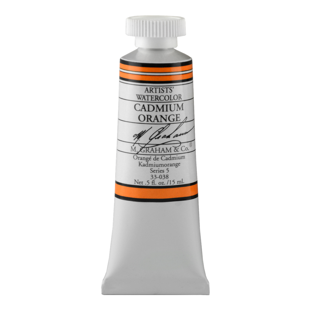 M. Graham W/C Cadmium Orange 15 Ml