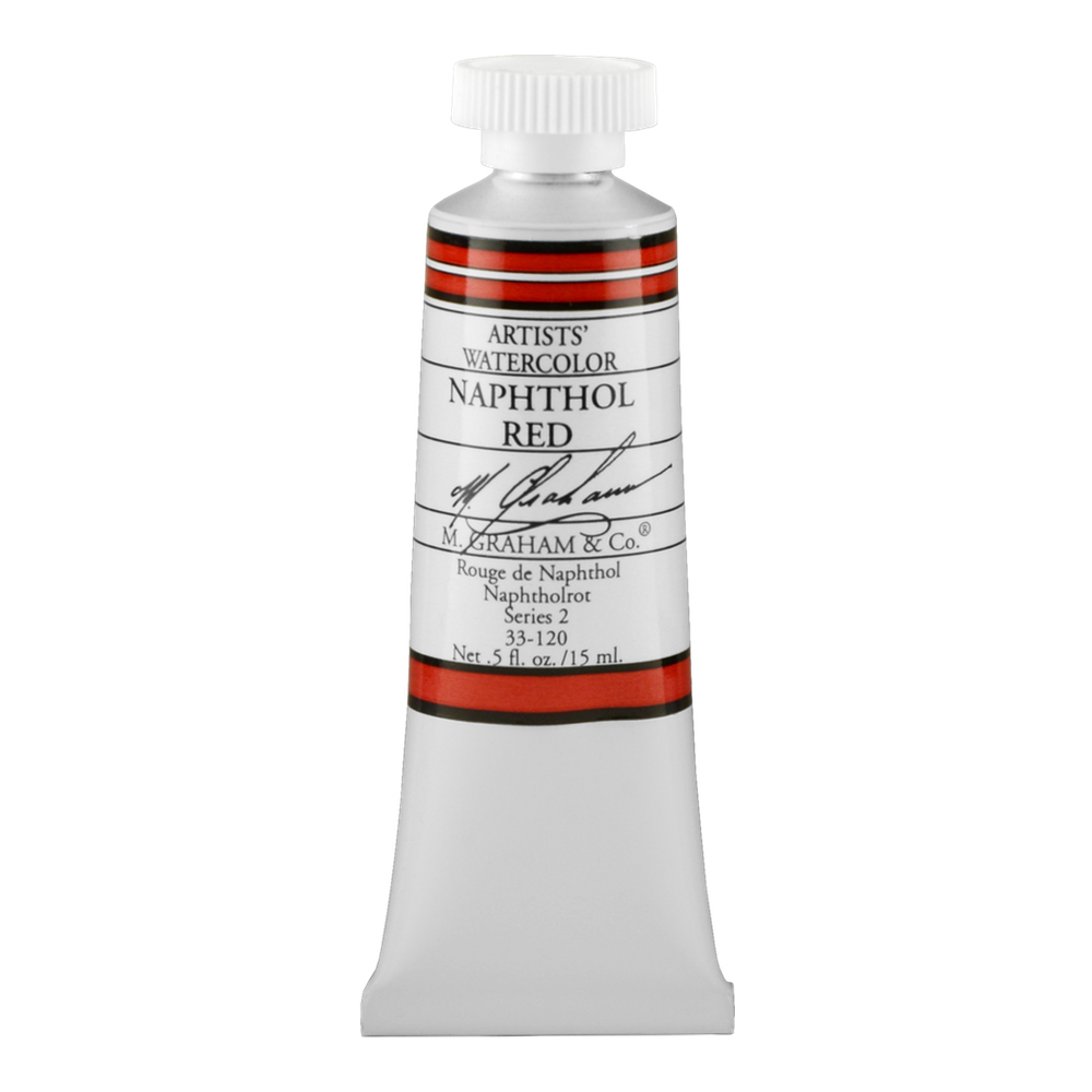 M. Graham W/C Naphthol Red 15 Ml