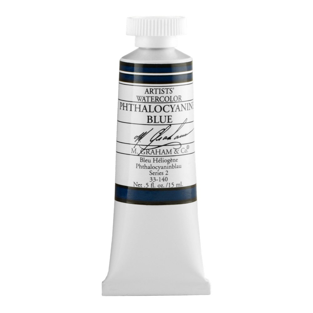 M. Graham W/C Phthalo Blue 15 Ml
