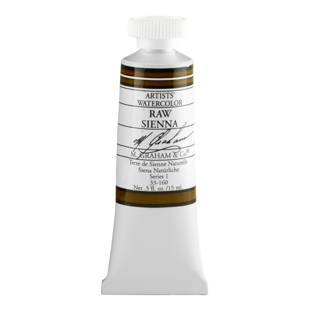 M. Graham W/C Raw Sienna 15 Ml