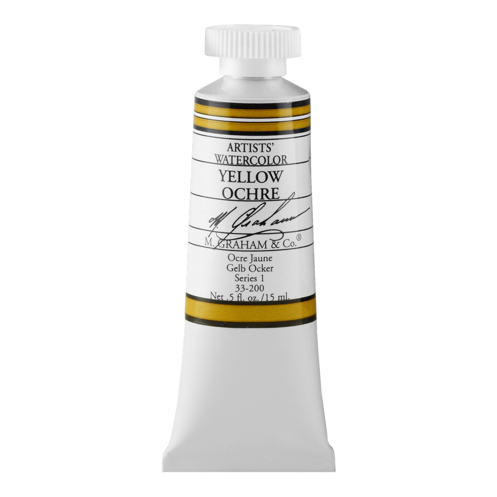 M. Graham W/C Yellow Ochre 15 Ml