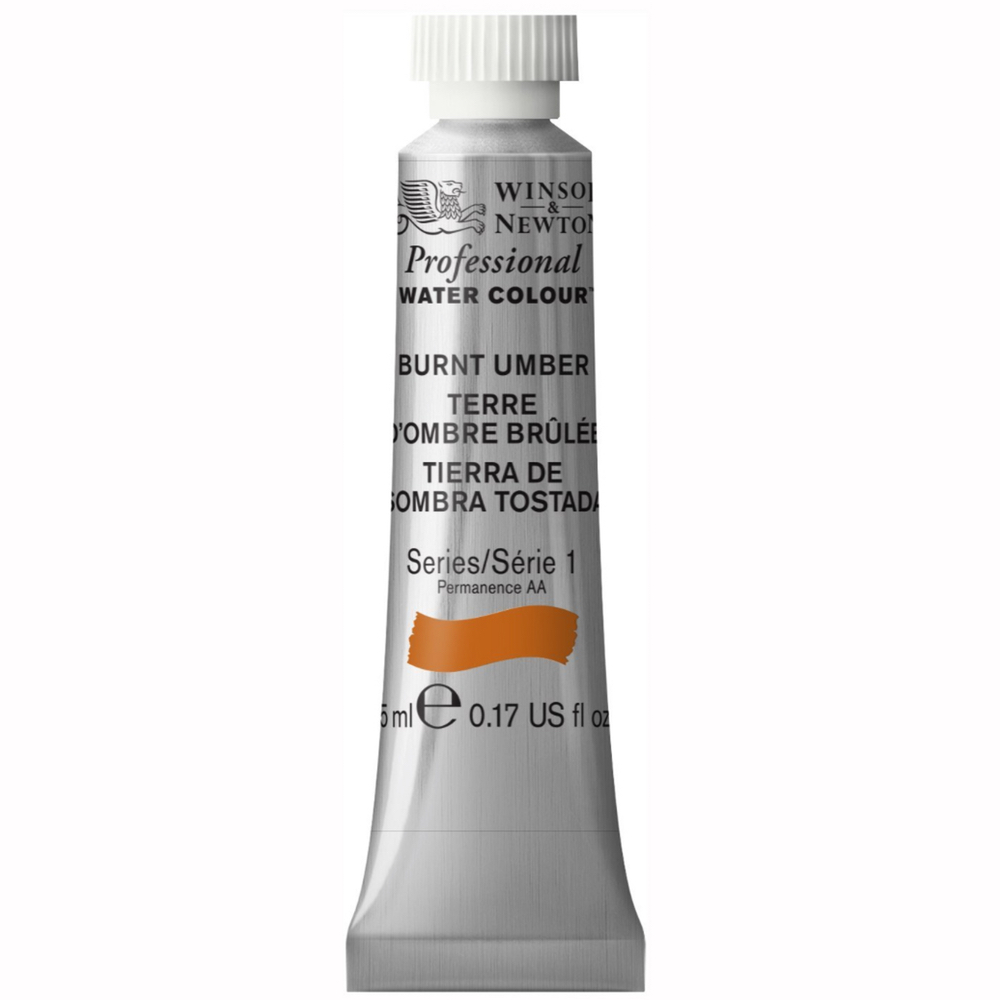 W&N Artist Watercolor 5Ml Burnt Umber