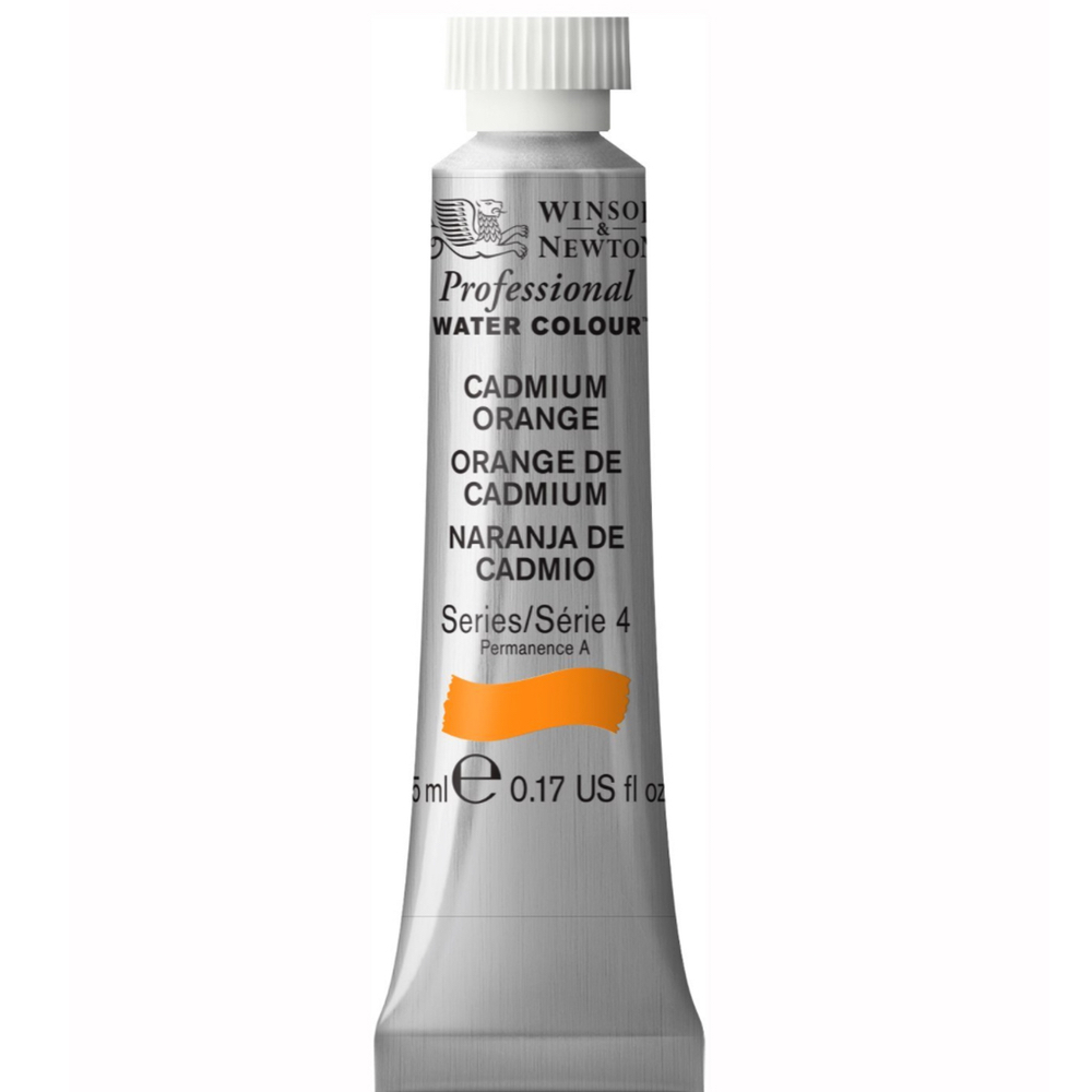W&N Artist Watercolor 5Ml Cadmium Orange