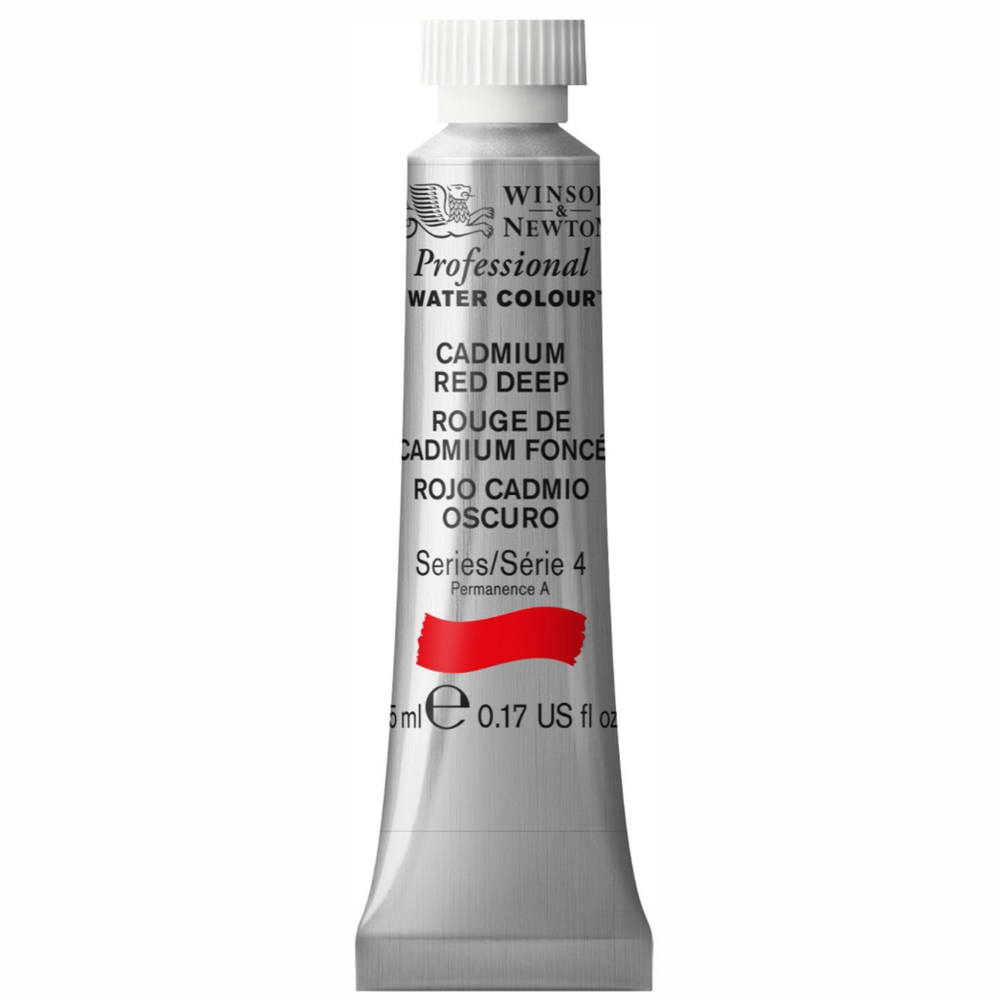 W&N Artist Watercolor 5Ml Cadmium Red Deep