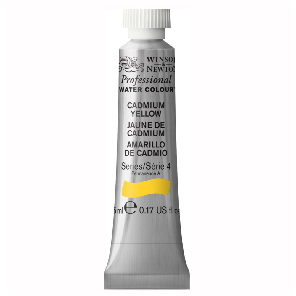 W&N Artist Watercolor 5Ml Cadmium Yellow