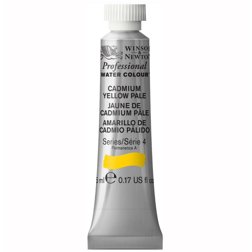 W&N Artist Watercolor 5Ml Cad Yellow Pale