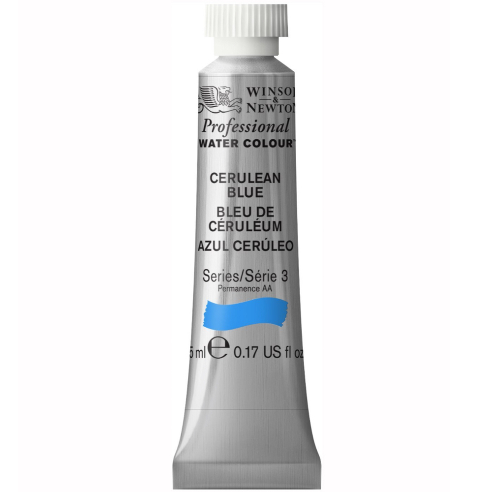 W&N Artist Watercolor 5Ml Cerulean Blue