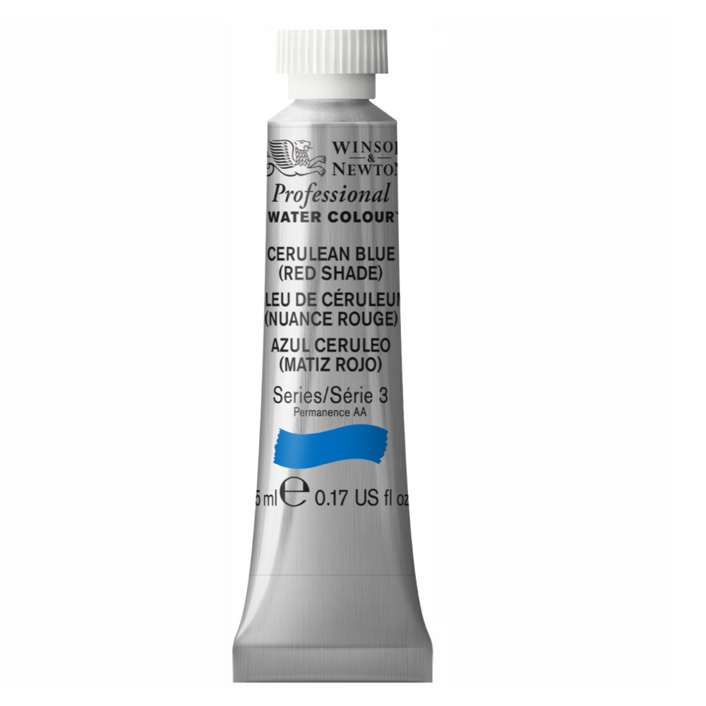W&N Artist Watercolor 5Ml Cerulean Blue/Red