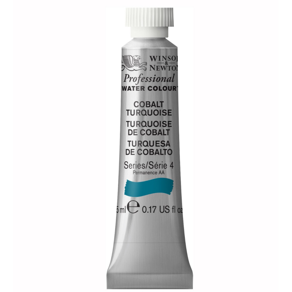 W&N Artist Watercolor 5Ml Cobalt Turquoise