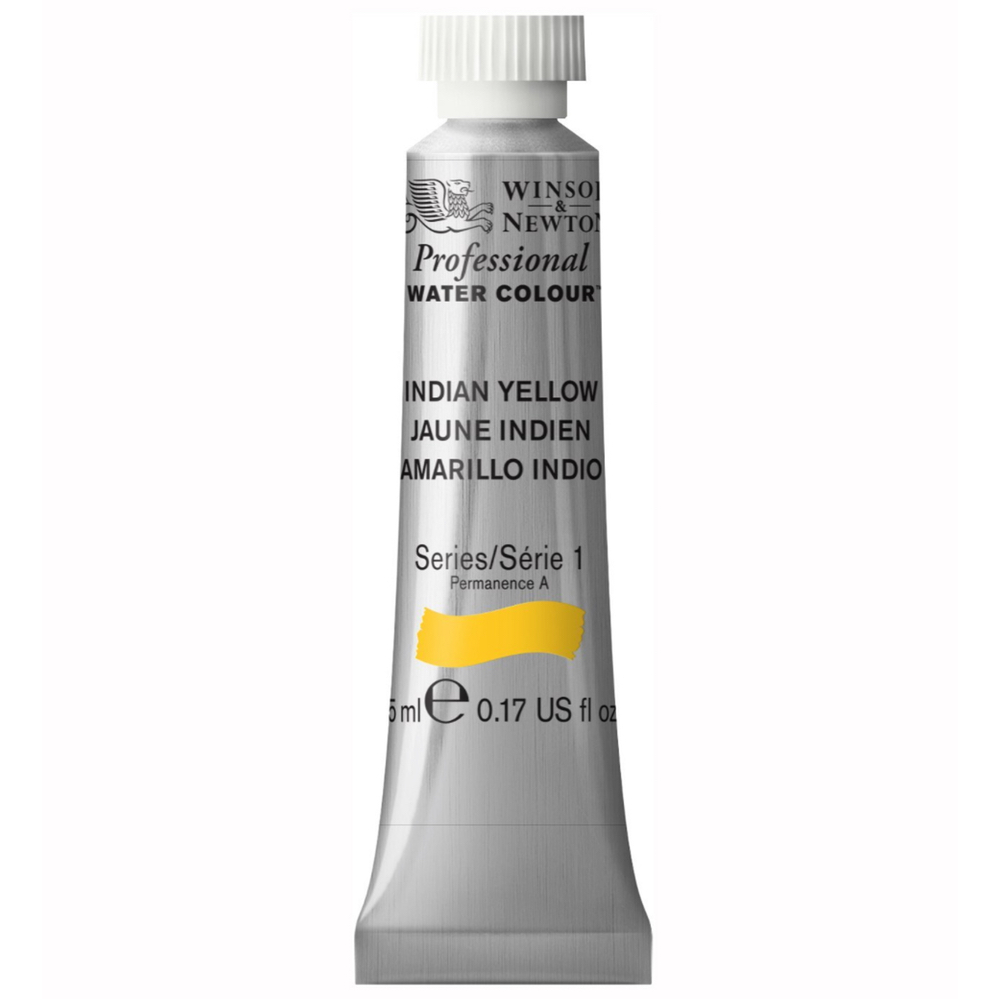 W&N Artist Watercolor 5Ml Indian Yellow
