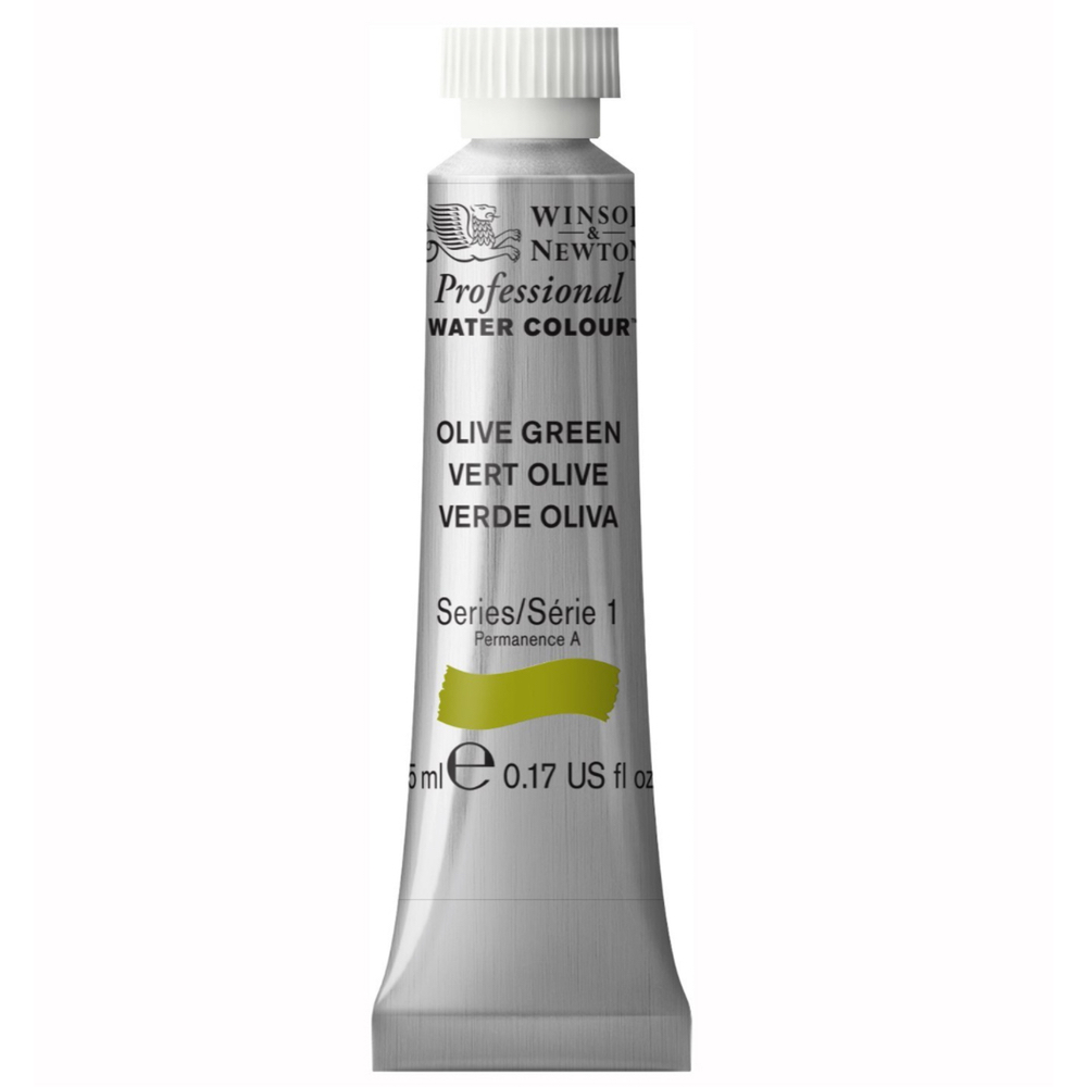 W&N Artist Watercolor 5Ml Olive Green