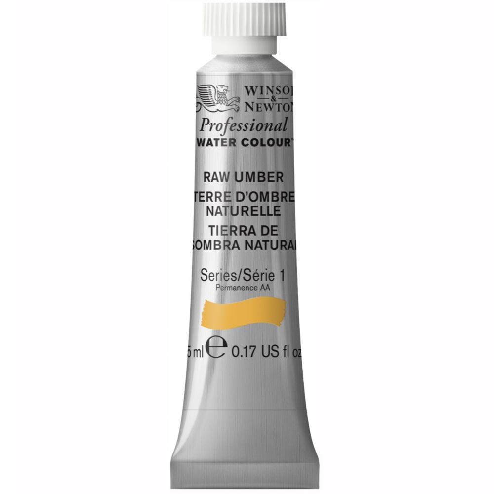W&N Artist Watercolor 5Ml Raw Umber