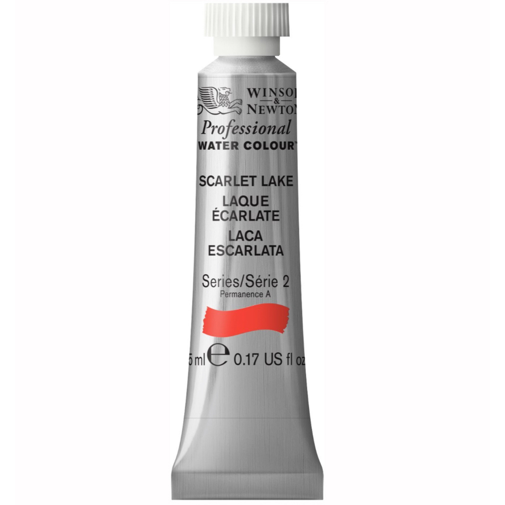 W&N Artist Watercolor 5Ml Scarlet Lake