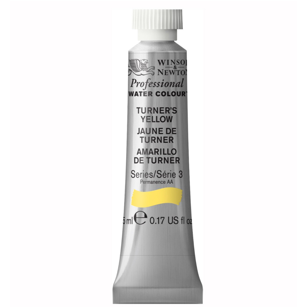 W&N Artist Watercolor 5Ml Turners Yellow